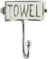 Riviera Maison - Towel Hook Enamel - Ophanghaken - Aluminium