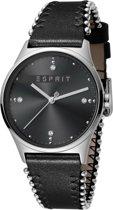 Esprit ES1L032L0025 horloge dames - zwart - edelstaal