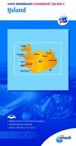 ANWB wegenkaart - Scandinavië/IJsland 3. IJsland