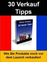 30 Verkauf Tipps