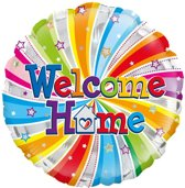 Folie-ballon 18 inch WELCOME HOME