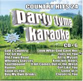 Party Tyme Karaoke: Country Hits, Vol. 24