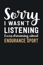 I was Dreaming about Endurance Sport