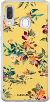 Samsung Galaxy A40 siliconen hoesje - Floral days