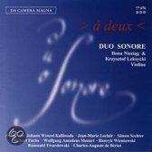 A Deux (Works For Two Violins)