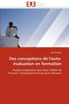 Des Conceptions de l''auto-�valuation En Formation