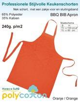 Homéé - Keukenschorten BBQ – 2 stuks - Oranje  70x100cm