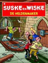 Omslag van 'Suske en Wiske 338 - De heldenmaker'