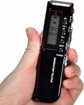 8GB digitale voice recorder Dictafoon opname apparaat MP3 bestanden VOR speaker / HaverCo