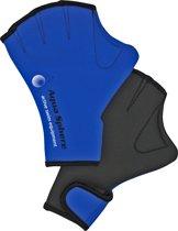 Aqua Sphere Swim Glove - Aquafitness Handschoen - S - Blauw