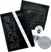 LYVION Blackhead Peel-Off Masker | 100 sachets | Zeg vaarwel tegen mee-eters, puistjes en andere onzuiverheden met dit  Nederlandstalige peel-off masker