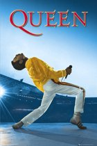 Poster Freddie Mercury Queen Wembley
