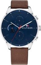 Tommy Hilfiger TH1791487 horloge - heren - bruin - edelstaal
