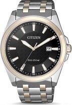 Citizen BM7109-89E Horloge Heren Ecodrive Staal/Rosé Zwart