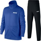 Nike Trainingspak - Maat L  - Unisex - blauw/ zwart