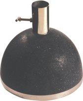 Parasolvoet graniet zwart klein