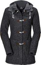 Jack Wolfskin Milton fleecejas Dames Coat zwart Maat XL