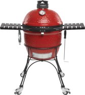 Kamado Joe - Classic II houtskoolbarbecue met onderstel en zijtafels