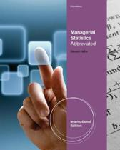 Managerial Statistics, Abbreviated International Edition (with Printed Access Card)