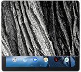 Lenovo Tab E10 Silicone Tablet Hoes Boomschors Grijs
