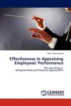 Effectiveness in Appraising Employees' Performance