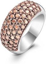 Ti Sento Ring 1546RD - Maat 17.75 mm (56) - Zilver roségoudverguld