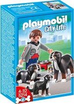 Playmobil Berner Sennenhond Familie - 5214