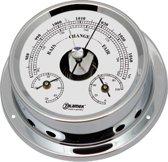 Talamex serie 125 messing verchroomd / Barometer