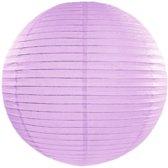 Decoratieve lampion lavendel 25cm
