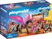 PLAYMOBIL: THE MOVIE Marla en Del met gevleugeld paard - 70074