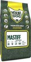 Yourdog mastiff hondenvoer volwassen 3 kg