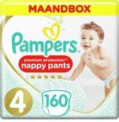 Pampers Premium Protection Pants - Maat 4 (9-15 kg) - Maandbox 160 stuks - Luierbroekjes