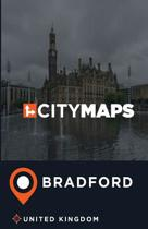 City Maps Bradford United Kingdom
