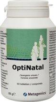METAGENICS OPTINATAL 60 tabletten