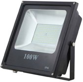 Led bouwlamp 100W koud licht 4000 kelvin