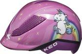 KED Pina S Unicorn helm met hoofdomtrek: 50-53 cm