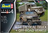 M34 Tactical Truck & Jeep Revell schaal 135