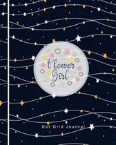 Flower Girl Dot Grid Journal