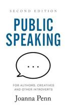 Public Speaking for Authors, Creatives a