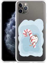 Apple iPhone 11 Pro Max Hoesje Candy Pinquin