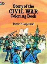 Story of the Civil War Colouring Book