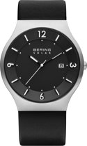 BERING 14440-402 - Horloge - Leer - Zilverkleurig - 40 mm