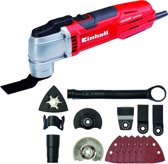 Einhell TE-MG 300 EQ Multitool - 300 W - Oscillerend - Inclusief 11 accessoires - Inclusief koffer
