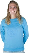 Ajax sweater Dames - blauw - maat S