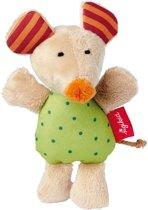 sigikid Mini rammelaar muis Red Stars 41187