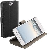 HC zwart book case style HTC One A9  wallet cover