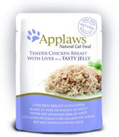 Applaws cat jelly chicken / liver