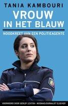 Vrouw in het blauw