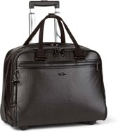 Kipling New Ceroc - Laptoptrolley - Metallic Blck