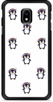 Galaxy J3 2017 Hardcase Hoesje Chillin like a penguin